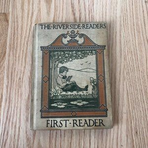The Riverside Readers Antique Book